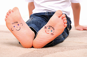 childrens feet